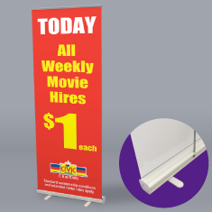 Roll Up Banner Budget
